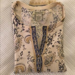 Lucky Brand wool cardigan